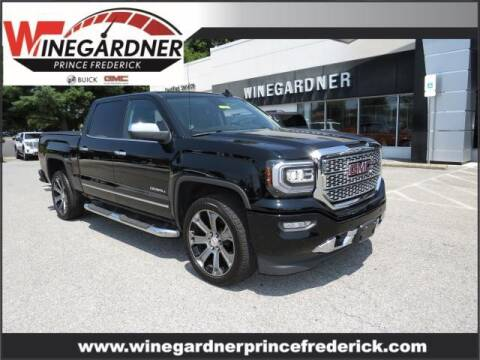 2018 GMC Sierra 1500 for sale at Winegardner Auto Sales in Prince Frederick MD