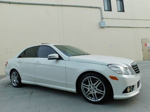 2010 Mercedes-Benz E-Class for sale at Conti Auto Sales Inc in Burlingame CA
