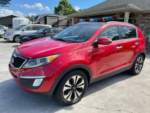 2013 Kia Sportage for sale at Autoway Auto Center in Sevierville TN