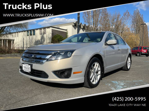 2010 Ford Fusion for sale at Trucks Plus in Seattle WA