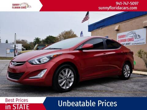 2016 Hyundai Elantra for sale at Sunny Florida Cars in Bradenton FL