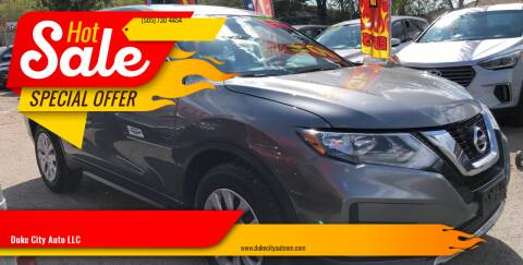 2017 Nissan Rogue for sale at Duke City Auto LLC in Gallup NM