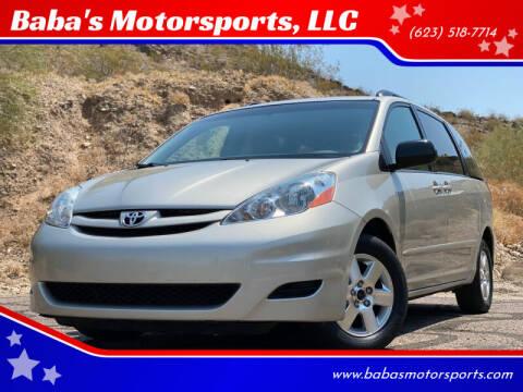 2008 Toyota Sienna for sale at Baba's Motorsports, LLC in Phoenix AZ