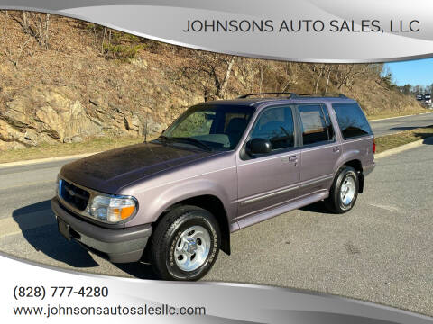 1997 Ford Explorer for sale at Johnsons Auto Sales, LLC in Marshall NC