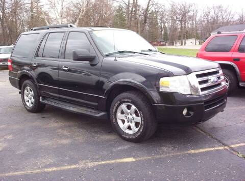 2009 Ford Expedition for sale at LAKESIDE MOTORS LLC in Houghton Lake MI