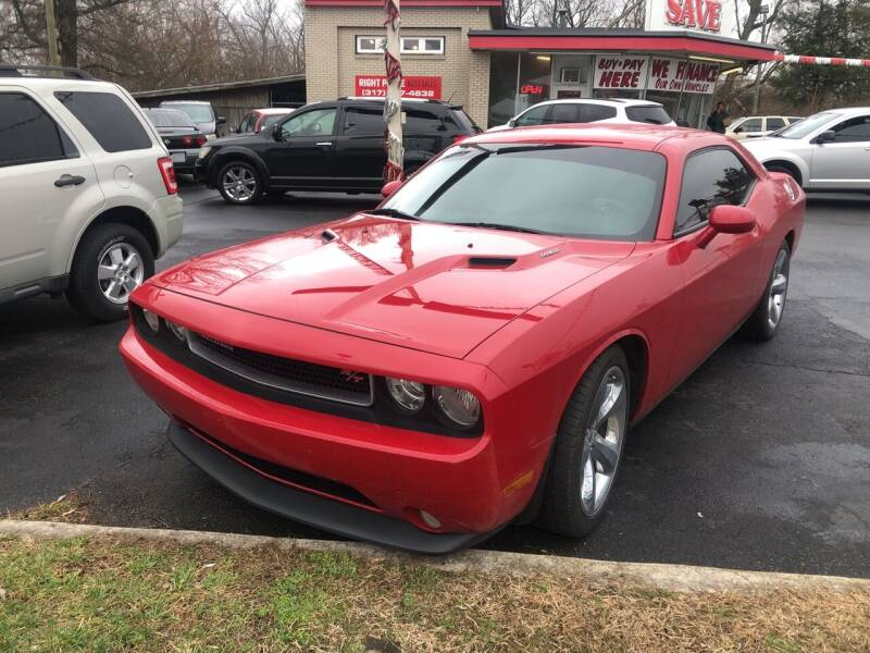 2013 Dodge Challenger for sale at Right Place Auto Sales in Indianapolis IN