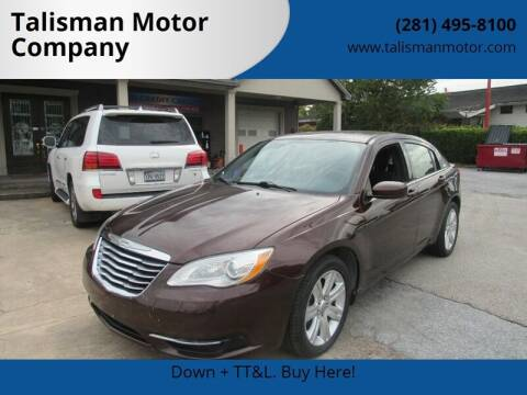 2013 Chrysler 200 for sale at Don Jacobson Automobiles in Houston TX