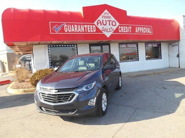 2018 Chevrolet Equinox for sale at Oak Park Auto Sales in Oak Park MI