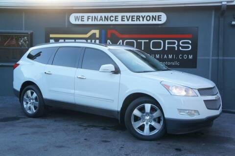 2009 Chevrolet Traverse for sale at Meru Motors in Hollywood FL