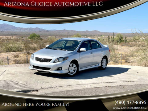 2009 Toyota Corolla for sale at Arizona Choice Automotive LLC in Mesa AZ