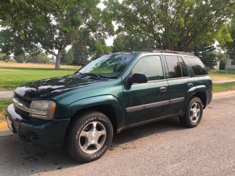 2005 Chevrolet TrailBlazer for sale at Kevs Auto Sales in Helena MT