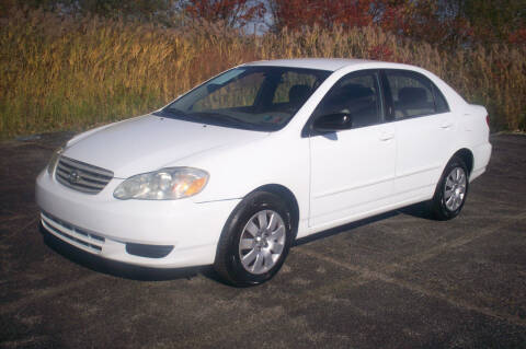 2004 Toyota Corolla for sale at Action Auto Wholesale - 30521 Euclid Ave. in Willowick OH