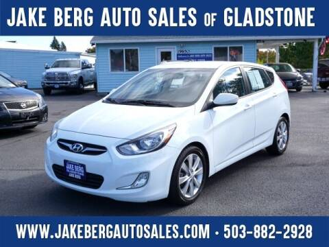 2012 Hyundai Accent for sale at Jake Berg Auto Sales in Gladstone OR