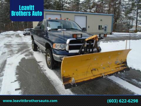2005 Dodge Ram Pickup 2500 for sale at Leavitt Brothers Auto in Hooksett NH