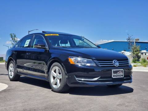 2012 Volkswagen Passat for sale at FRESH TREAD AUTO LLC in Springville UT
