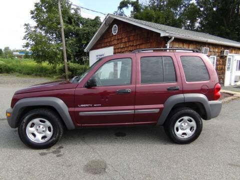 2003 Jeep Liberty for sale at Trade Zone Auto Sales in Hampton NJ