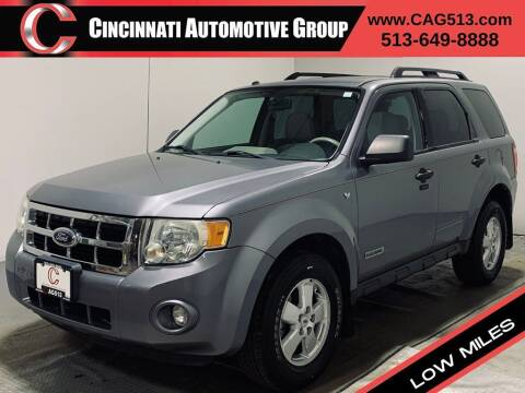 2008 Ford Escape for sale at Cincinnati Automotive Group in Lebanon OH