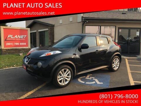 2013 Nissan JUKE for sale at PLANET AUTO SALES in Lindon UT