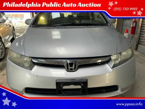 2008 Honda Civic for sale at Philadelphia Public Auto Auction in Philadelphia PA