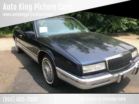 1990 Buick Riviera for sale at Auto King Picture Cars in Westchester County NY