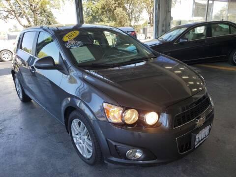 2013 Chevrolet Sonic for sale at Sac River Auto in Davis CA