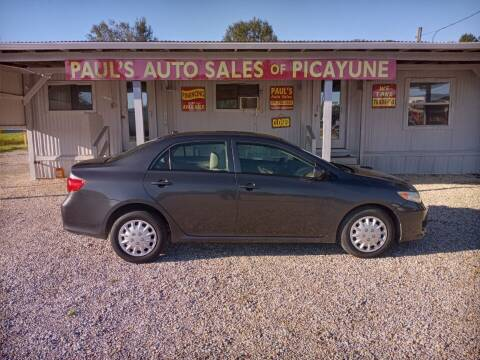 2010 Toyota Corolla for sale at Paul's Auto Sales of Picayune in Picayune MS