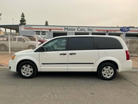 2008 Dodge Grand Caravan for sale at MOTOR CARS INC in Tulare CA