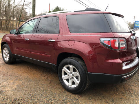 2016 GMC Acadia for sale at Pay-Less Auto Center in Roxboro NC