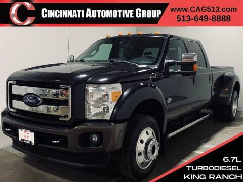 2015 Ford F-450 Super Duty for sale at Cincinnati Automotive Group in Lebanon OH