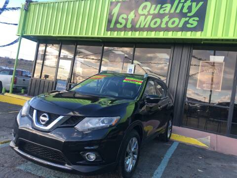 2015 Nissan Rogue for sale at 1st Quality Motors LLC in Gallup NM