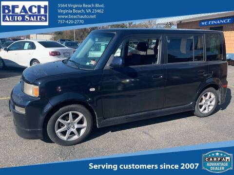 2006 Scion xB for sale at Beach Auto Sales in Virginia Beach VA