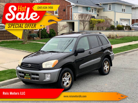 2003 Toyota RAV4 for sale at Reis Motors LLC in Lawrence NY