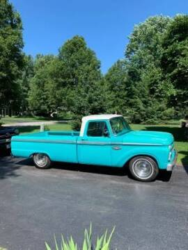 1966 Ford F-100 for sale at Classic Car Deals in Cadillac MI
