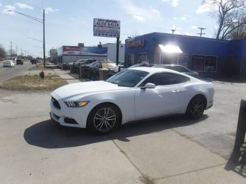 2015 Ford Mustang for sale at City Motors Auto Sale LLC in Redford MI