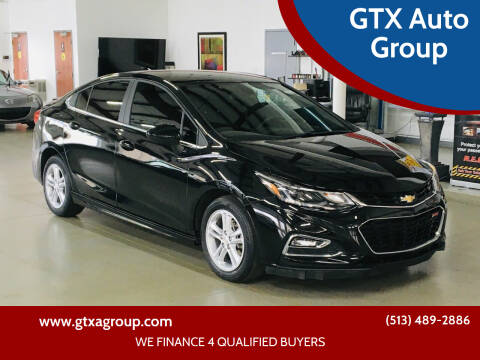 2017 Chevrolet Cruze for sale at GTX Auto Group in West Chester OH