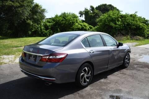 2016 Honda Accord for sale at ELITE MOTOR CARS OF MIAMI in Miami FL