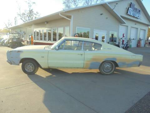 1967 Dodge Charger for sale at Milaca Motors in Milaca MN