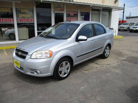 2011 Chevrolet Aveo for sale at Metroplex Motors Inc. in Houston TX