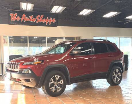 2015 Jeep Cherokee for sale at The Auto Shoppe in Springfield MO