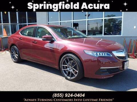 2015 Acura TLX for sale at SPRINGFIELD ACURA in Springfield NJ