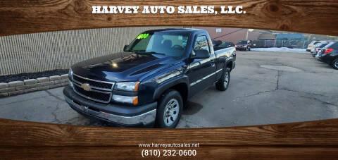 2007 Chevrolet Silverado 1500 Classic for sale at Harvey Auto Sales, LLC. in Flint MI