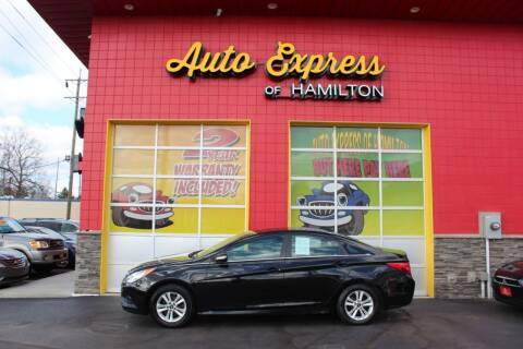 2014 Hyundai Sonata for sale at AUTO EXPRESS OF HAMILTON LLC in Hamilton OH