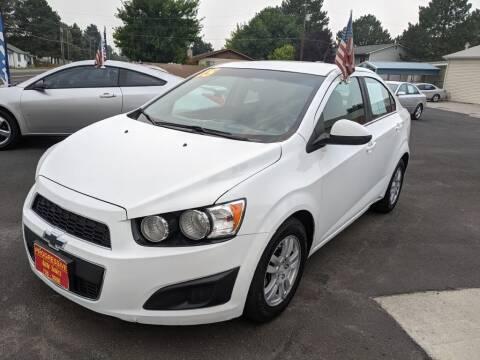 2015 Chevrolet Sonic for sale at Progressive Auto Sales in Twin Falls ID
