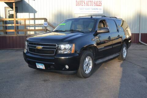 2012 Chevrolet Suburban for sale at Dave's Auto Sales in Winthrop MN