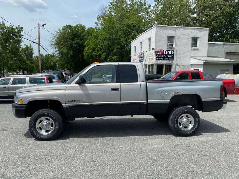2001 Dodge Ram Pickup 2500 for sale at DND AUTO GROUP in Belvidere NJ