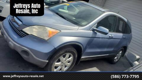 2007 Honda CR-V for sale at Jeffreys Auto Resale, Inc in Clinton Township MI