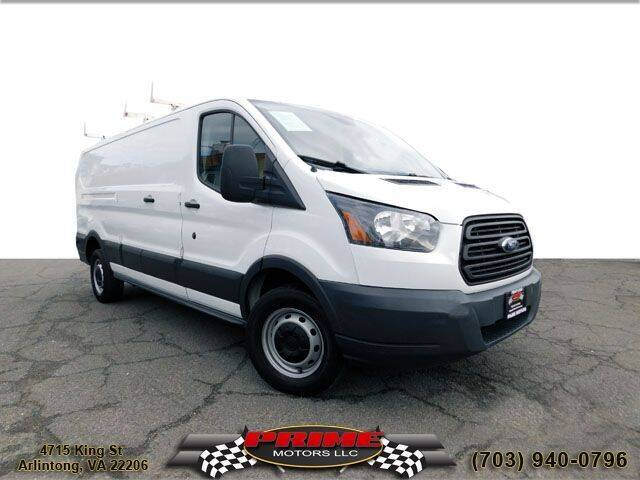 2016 Ford Transit Cargo for sale at PRIME MOTORS LLC in Arlington VA