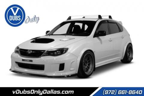 2014 Subaru Impreza for sale at VDUBS ONLY in Dallas TX