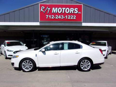 2010 Lincoln MKS for sale at RT Motors Inc in Atlantic IA