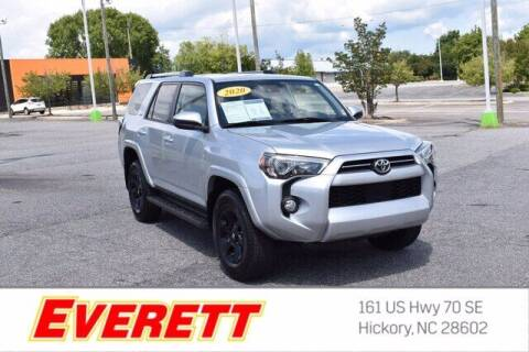 2020 Toyota 4Runner for sale at Everett Chevrolet Buick GMC in Hickory NC